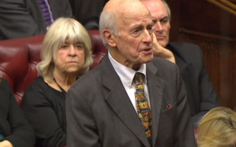 Lord Taverne: Commons are abandoning principle of parliamentary democracy