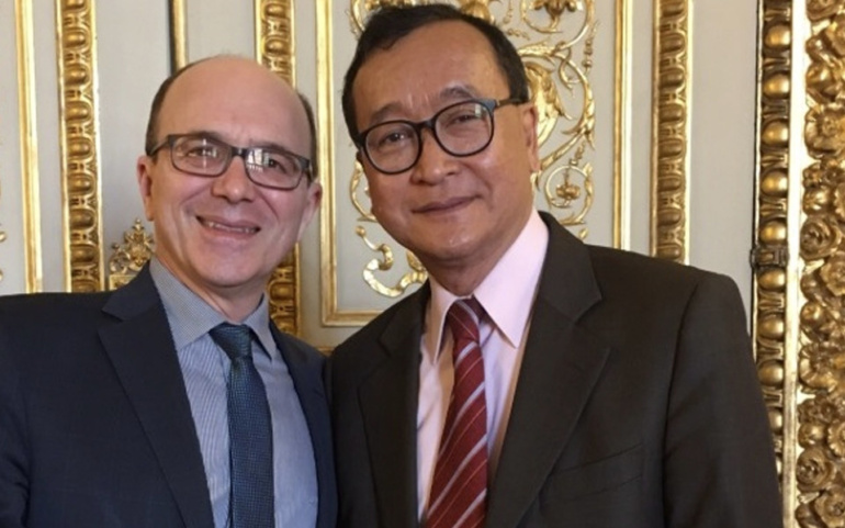 Gattolin and Rainsy: rule of law in Cambodia!