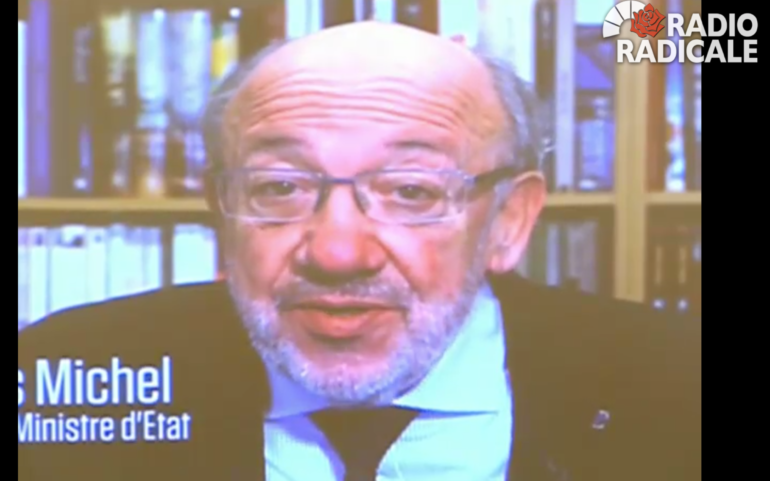 Louis Michel warns Erdogan against calling a referendum to reinstate the death penalty