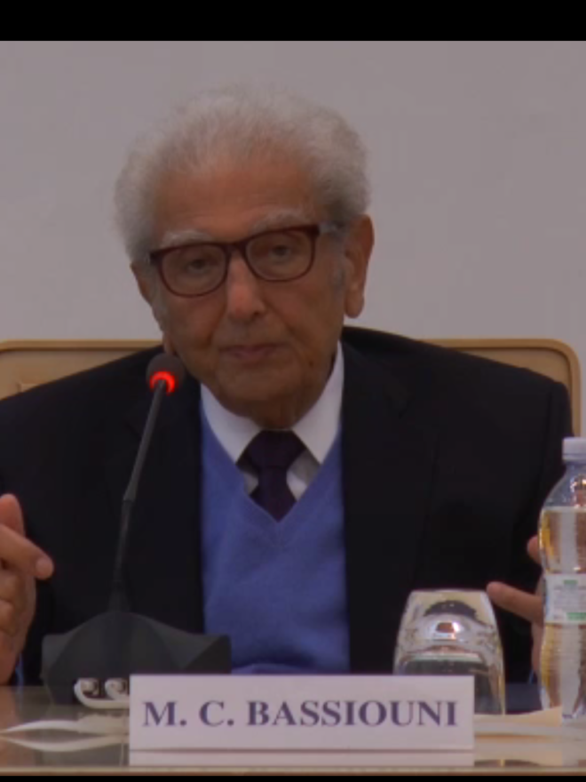 Cherif Bassiouni: we find ourselves on a radically different path than the one chosen in 1948