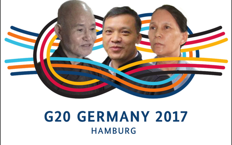 G20 Summit: open letter to the Vietnamese Prime Minister to release prisoners of conscience