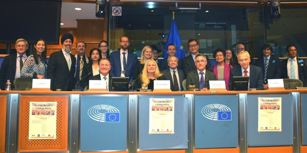 "Conclusion of the Conference on ""Religion, Business and Human Rights"" at the European Parliament"