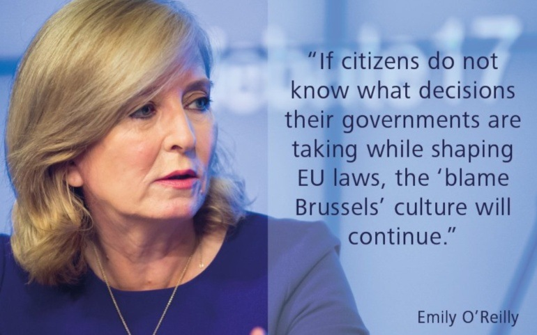 EU Ombudsman: citizens have the right to know