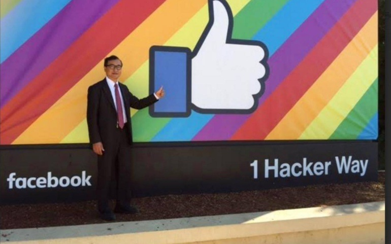 Sam Rainsy's legal action in the U.S. on the misuse of Facebook by Hun Sen