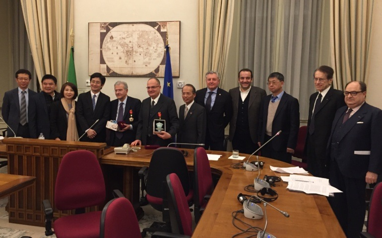Meeting with Taiwanese delegation at the Italian Parliament
