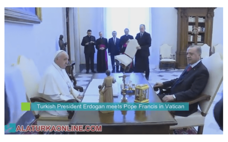 Meeting between Pope Francis and Erdogan in the Vatican