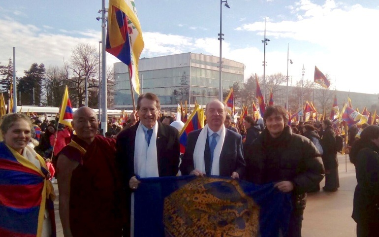 "Commemorazione a Ginevra: ""Europe Stands With Tibet"""