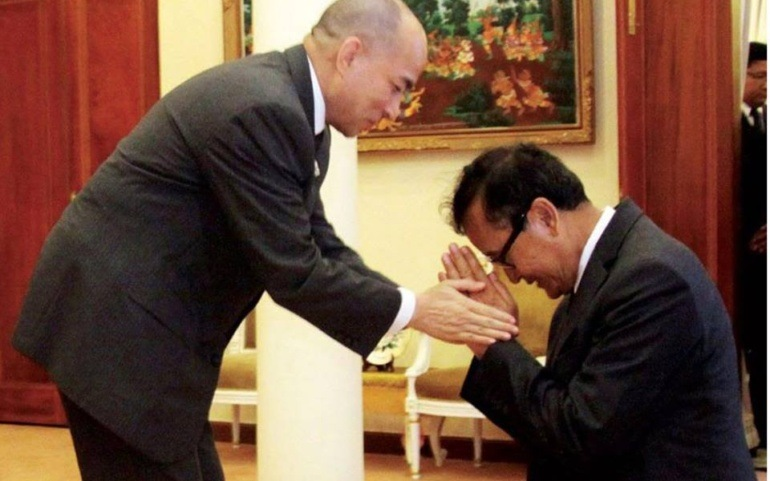 Sam Rainsy's letter to King Norodom Sihamoni