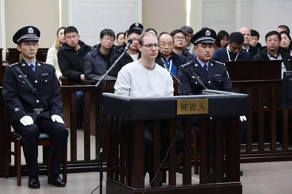 Why the unusual speed of Canadian's death sentence in China?