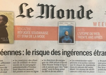 """Le Monde denounces the high risk of """"foreign interferences"""" in the European elections"""