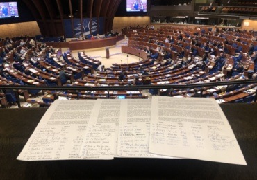 Members of the Parliamentary Assembly of the Council of Europe in support of Radio Radicale