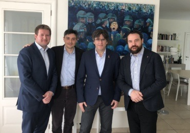 European Republic and citizenship: conversation with Carles Puigdemont
