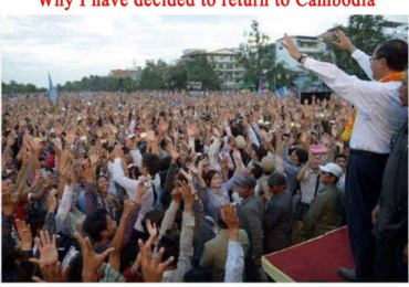 Sam Rainsy: Why I have decided to return to Cambodia