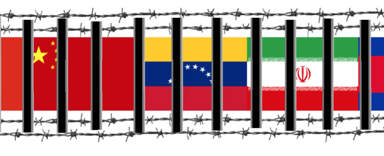 Event: Political prisoners in Hong Hong, China, Venezuela, Iran and Cambodia
