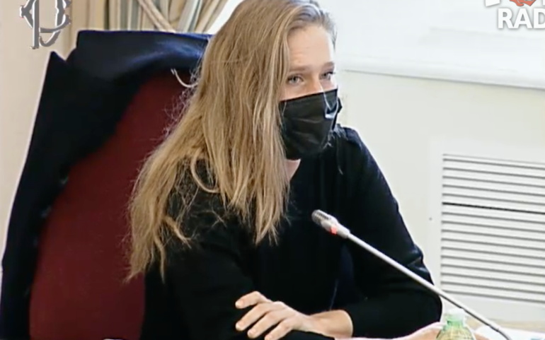 Laura Harth's testimony to Parliament on the pandemic