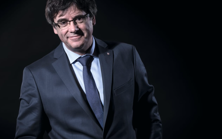 Conversation with Carles Puigdemont on parliamentary immunity