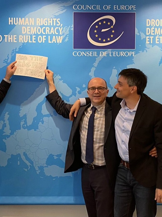"""Council of Europe adopts a wide """"Right to Know"""""""